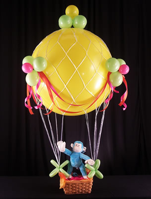 Balloon Haven Bouquets ~ Hot Aire Balloon